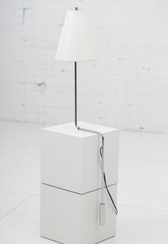 Cedric Hartman Minimalist Chrome Counterbalance Table Lamps - 1566650