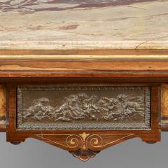 Center Table with Marble Top Attributed to Pottier and Stymus New York - 57597