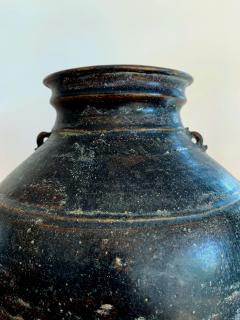 Ceramic Jar with Black Glaze Khmer Angkor Period - 1097140