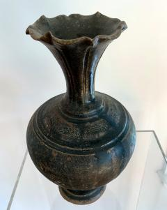 Ceramic Vase with Black Glaze Khmer Angkor Period - 1097150