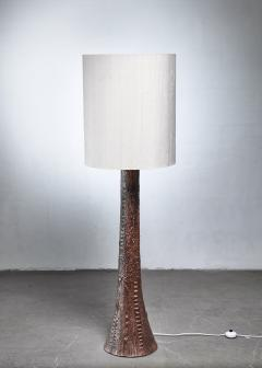Ceramic tree floor lamp 1960s - 1119684