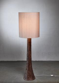 Ceramic tree floor lamp 1960s - 1119685
