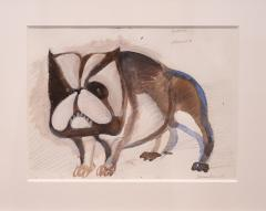 Cerb res watercolour and gouache by Henri Samouilov - 1978996