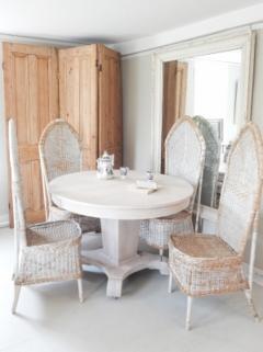 Ceruced Oak Pedestal Table - 1758231