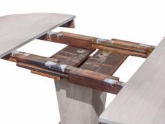 Ceruced Oak Pedestal Table - 1758240