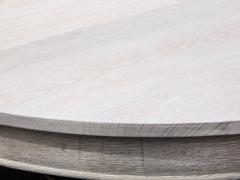 Ceruced Oak Pedestal Table - 1758241