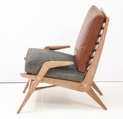 Cerused Lounge Chair - 1115736