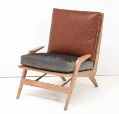 Cerused Lounge Chair - 1115737