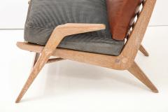 Cerused Lounge Chair - 1115738