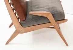 Cerused Lounge Chair - 1115741