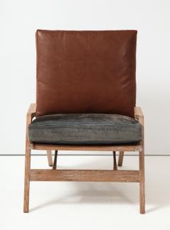 Cerused Lounge Chair - 1115742