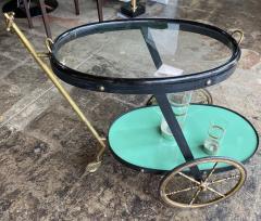 Cesare Lacca Cesare Lacca Rare Oval Bar Cart Italy 1955 - 1191522