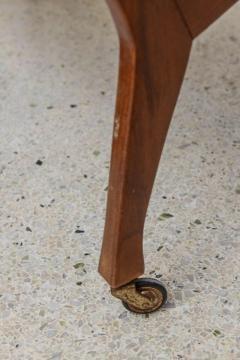 Cesare Lacca Italian Modern Walnut Rolling Adjustable Book Shelf Cesare Lacca - 364254
