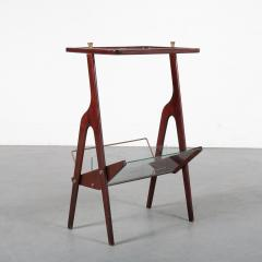 Cesare Lacca Luxurious Magazine Table by Cesare Lacca Italy 1950 - 1304997