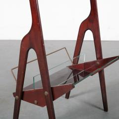 Cesare Lacca Luxurious Magazine Table by Cesare Lacca Italy 1950 - 1305005