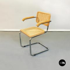 Chairs with armrests in Cesca Style 1970s - 1936003