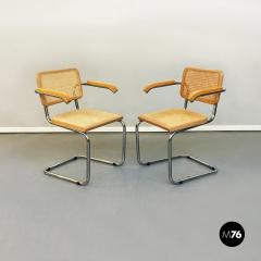 Chairs with armrests in Cesca Style 1970s - 1936012