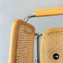 Chairs with armrests in Cesca Style 1970s - 1936053