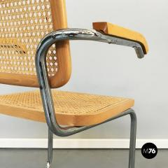 Chairs with armrests in Cesca Style 1970s - 1936076
