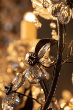 Chandelier with Crystal Pendants - 1862773