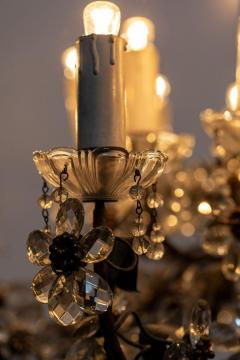 Chandelier with Crystal Pendants - 1862776