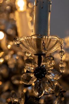 Chandelier with Crystal Pendants - 1862815