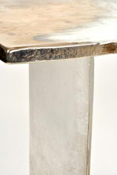Charles Burnand Cloud Console Made from Hand Silvered Murano Glass - 1462722