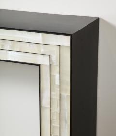 Charles Burnand Gypsum Inlaid with Nickel Detail Console Table Designed by Drake Anderson - 1487438