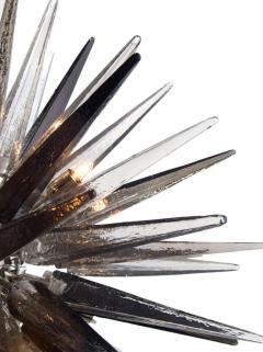 Charles Burnand Murano Glass Sputnik Shard Chandelier - 1487808