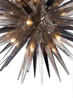 Charles Burnand Murano Glass Sputnik Shard Chandelier - 1487817