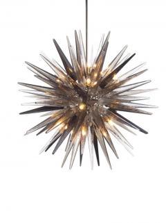 Charles Burnand Murano Glass Sputnik Shard Chandelier - 1487818
