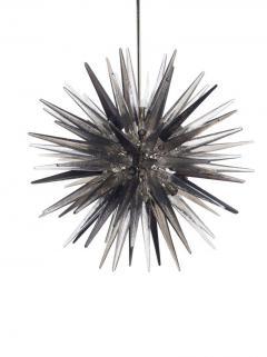 Charles Burnand Murano Glass Sputnik Shard Chandelier - 1487822