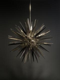 Charles Burnand Murano Glass Sputnik Shard Chandelier - 1487831