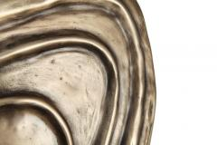 Charles Burnand Perla Wall Sconce in Cast Bronze with Alabaster Orb - 1455325