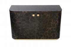Charles Burnand Riccardo Sideboard with Mica Marquetry Macassar Ebony and Brass - 1265527