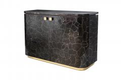Charles Burnand Riccardo Sideboard with Mica Marquetry Macassar Ebony and Brass - 1265528