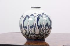 Charles Catteau Art Deco Vase Ad003 2 in Style of Charles Catteau by Keralouve Belgium 1970s - 1544897