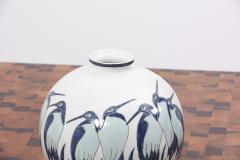 Charles Catteau Art Deco Vase Ad003 2 in Style of Charles Catteau by Keralouve Belgium 1970s - 1544900