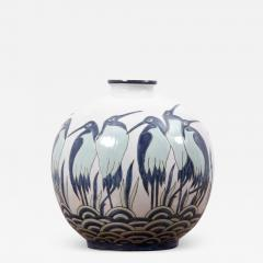 Charles Catteau Art Deco Vase Ad003 2 in Style of Charles Catteau by Keralouve Belgium 1970s - 1545445
