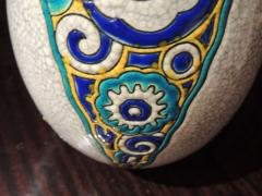 Charles Catteau Art Deco Vase by Charles Catteau for Boch Ceramics Atelier de Fantasie - 1352202