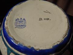 Charles Catteau Art Deco Vase by Charles Catteau for Boch Ceramics Atelier de Fantasie - 1352205