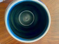 Charles Catteau Catteau Boch Freres Art Deco Geometric Stoneware Vase - 1369659