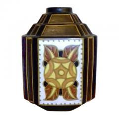 Charles Catteau La Louviere Hexagon Vase - 127453