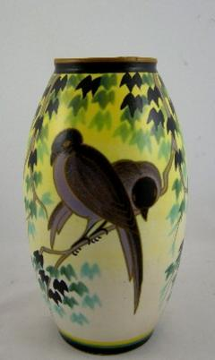 Charles Catteau Rare Boch Freres Keramis Vase by Charles Catteau - 631533
