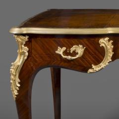 Charles Cressent A Louis XV Style Bureau Plat - 898371
