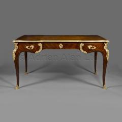Charles Cressent A Louis XV Style Bureau Plat - 898374