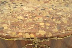 Charles Cressent Pair of French Louis XV Rosewood Commodes - 741354