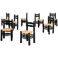 Charles Dudouyt CHARLES DUDOUYT DINING CHAIRS SET OF 8 - 1787022
