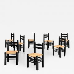 Charles Dudouyt CHARLES DUDOUYT DINING CHAIRS SET OF 8 - 1791253
