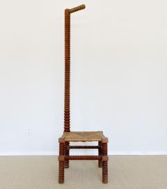 Charles Dudouyt CHARLES DUDOUYT SCULPTURAL FRENCH STOOL - 1979934